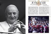 Imago fidei. Três papas nas pegadas de Pedro: João Paulo II, João XXIII, Francisco / Tu és Pedro e nesta pedra eu edificarei minha Igreja