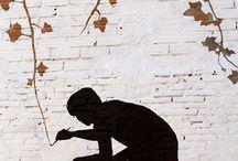 Silhouettes & Stencils & Shadows