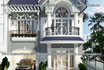 Casa fachadas