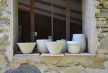 """fet(t) - Raku ceramic designs / """"fet"""" means done in catalan and expresses my need to actually make things. As an architect and designer I put emphasis on proportions and shapes combined with the old traditions of this so incredibly complex craft."""