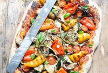 En cuisine : pizza,quiches et tartes salées
