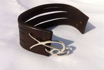 Ishaor / Fine handmade leather products #leather_belts #Cuffs #men_bracelet #leather_accessories   http://www.ishaor.etsy.com