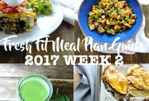 Meal Planning and Healthy Kitchen Tips / Plan a week of healthy meals. Stay organized and on track with weekend meal prepping ideas to keep you going. Learn how to stock your kitchen for success. #mealprep #mealplanning #recipeguides #mealplans #healthykitchen #cookingtips #howtocookhealthy
