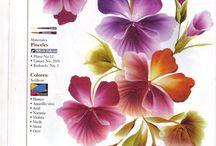 pinturas de fiores