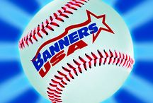 2013 Major League Banner Ideas from Banners USA / A collection of our Vinyl Major League Team Banner templates from our renowned Banner Builder