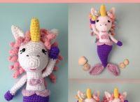 Unicorn Mermaid Amigurumi