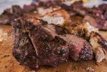 Beef brisket steak wings