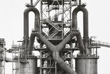 """Bernhard """"Berndt"""" Becher e Hilla Wobeser / GER – 20 Agosto 1931 / 2007 e 2 Settembre 1934 / 2015 – Paesaggio industriale"""