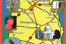 Dreaming of a Southern road trip... / Ideas for my dream road trip in the USA.