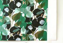 wallpapers by Lotte Dirks / www.greenhouseprints.com