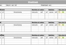 Weektaken