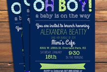 Etsy Creations - baby and bridal showers / by Katherine Cornick