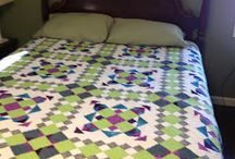 My Bonnie Hunter Mystery Quilts