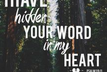 """I have hidden my Word in your heart..."" / Scripture and truths"