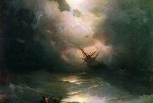 Ivan Konstantinovich Aivazovsky / Paintings
