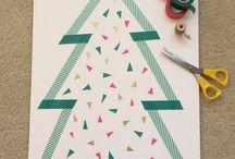Washi Tape Christmas  / An abundance of ways to use washi tape at Christmas