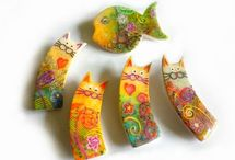 Polymer Clay: Cat