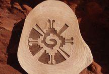 "The ""Galactic Butterfly"" or Hunab Ku symbol"