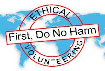 Ethical Volunteering / When you volunteer abroad there are things to keep in mind. Here are some of our favorite articles on How to Volunteer Ethically.