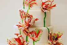 Pretty Cakes and Cupcakes / Adorable Desserts that I will never make ... but someone should!