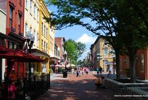 The Shenandoah Valley / My Harlequin Love Inspired book is set in a fictional town based on the Shenandoah Valley.