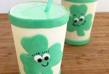 St. Patrick's Day Green Drinks and Treats / Get ready for St. Patty's Day with the luckiest color of all! These green recipes are all you need to find the end of the rainbow. Shamrock shakes, mint recipes and so much more!
