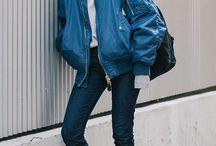 Model pakaian jalanan korea