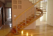 Schody drewniane / Najpiękniejsze schody drewniane wykonane, przez naszych projektantów.
