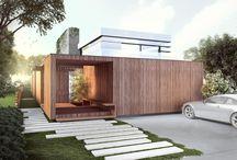 Framed Steel houses