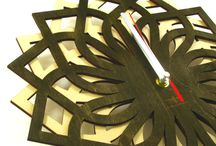Clocks / This amazing wooden clock is a great decoration specially for you. Having such an accessory on your wall means that you like sophisticated things in your interior. The clock has unique modern design and also build-in silent mechanism. Made of natural materials, what is important for the environment. Our clock is carefully cut out with precision laser cutter machine, from selected quality wood. Great choice for a gift.