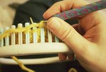 Knitting to Loom