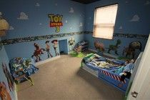 How To Make A Toy Story Bedroom  / Toy Story make over for kids bedroom