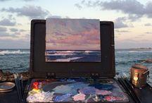 Art is life . Life is art.