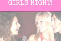 Moms Night Out Ideas / Plan an epic mom's night out (or mom's night in) with these ideas to get your girls together and have some drinks, play some games and enjoy! / by Jen @ TheSuburbanMom.com