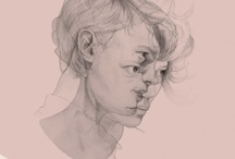 GCSE ART - Portrait Inspiration  / Portrait inspiration for my GCSE work