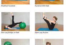 Pilates / Core Strengthening Exercises