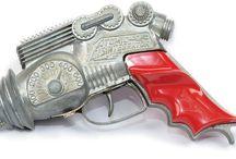 Ray Guns / Vintage Toy Ray Guns / by Karl E