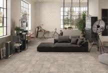 Living Zone / rivestimenti ceramici per area living, ceramic surfaces for living area, tiles