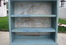 Bookcases / Shelves / by Mary Murchie