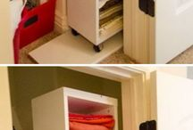 Rolling space organizer