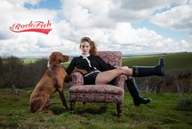 Rockfish dogs - how to 'walkies in wellies' in style! / £59.99 Free P&P buy now www.rockfishwellies.com Ladies wellies