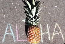 Hawai´i / aloha  Hawaii is how you spell paradise