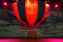 Balloons and lighting