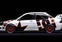 Mitsubishi Lancer Evo IX / DC styled designs - 2012.