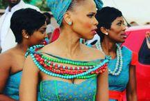 Ideas for shweshwe dress / Dress