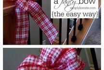 tie a fancy bow