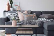 Designer lounge room