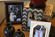 Elegant Picture Frames at Kathryne Designs Boutique / Treasure your special memories in style, we have a multitude of frames to choose from.