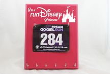 RunDisney Medal Holders. / Running Medal Holders for Disney Races. / by Strut Your Stuff Sign Co