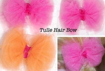 Tutus and hairbows / by Stefanie Danielson
